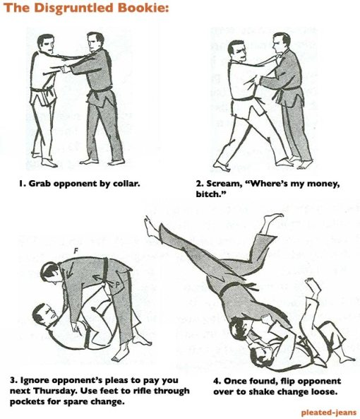 How judo really works
