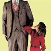 Big Man Little Woman