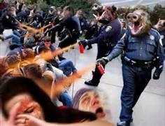 Police Pepper Spray