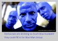 Blue Man Group Democrats